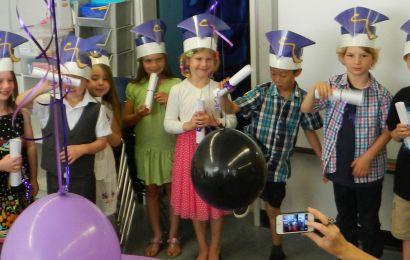 Kindergarten Vignettes: Graduation Day