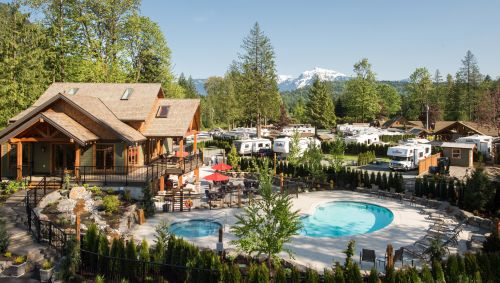 Harrison Hot Springs with Kids