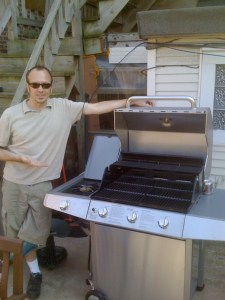 The grill of Ken's dreams. 2008.