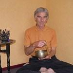 John Guthrie in his current yoga studio