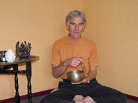 The author in his current yoga studio