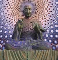 Buddha simply means 'One who is Awake'.