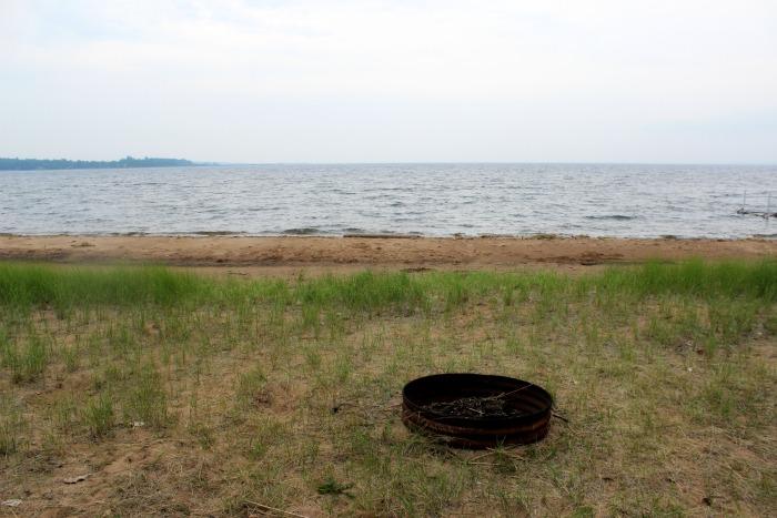 fire pit beach