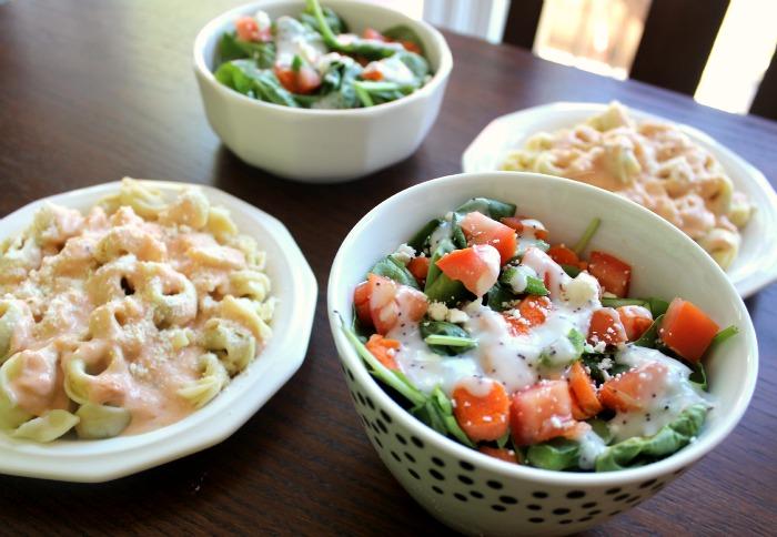 salad tortellini