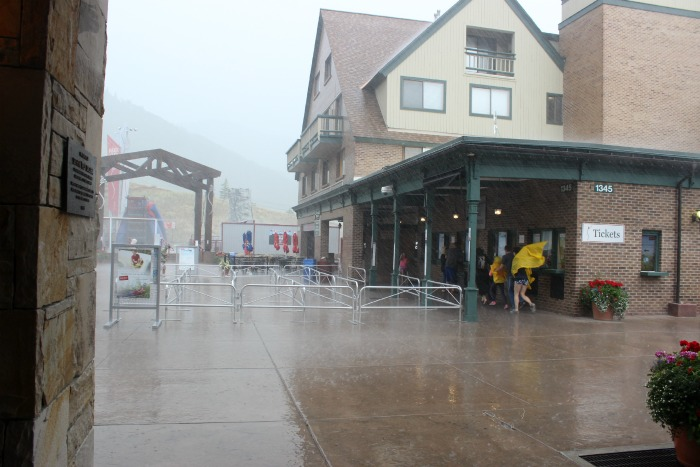 raining in park city
