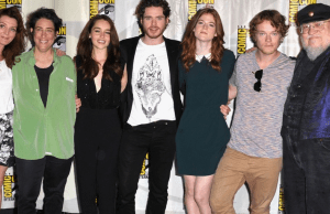 Game of thrones cast comic con