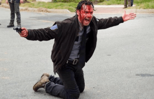 walking dead 515 blood rick