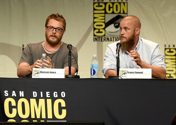duncan-jones-and-travis-fimmel-during-warcraft-panel-at-comic-con