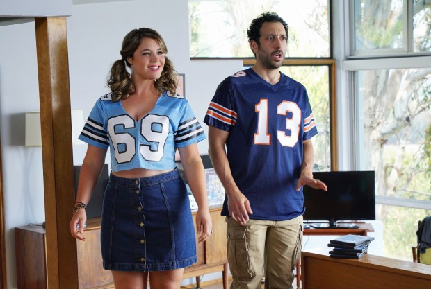 "YOU'RE THE WORST -- ""Crevasses"" -- Episode 202 (Airs Wednesday, September 16, 10:30 pm e/p Pictured: (l-r) Kether Donohue as Lindsay, Desmin Borges as Edgar. CR: Byron Cohen/FX"