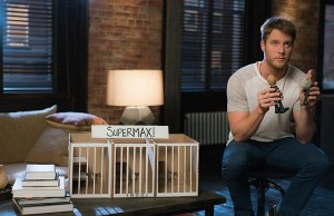"""""""Personality Crisis"""" -- Brian (Jake McDorman) learns a shocking secret about Rebecca's late father but worries that telling her will land him in legal trouble. Also, Brian accidentally meddles in Rebecca's personal life while learning self-defense from her secret boyfriend, FBI Agent Casey Rooks  on LIMITLESS, Tuesday, Oct. 20 (10:00-11:00 PM, ET/PT) on the CBS Television Network. Photo:  Michael Parmelee/CBS © 2015 CBS Broadcasting Inc. All Rights Reserved."""