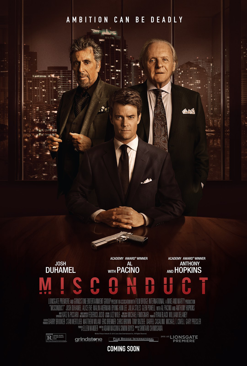 Movie Review: 'Misconduct'