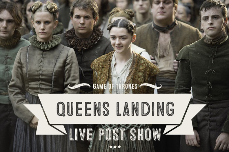 "Queens Landing Episode 6: Game of Thrones 6x6 ""Blood of My Blood"""