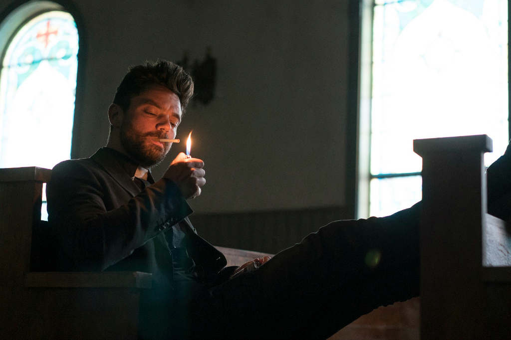 "TV Review:  AMC's Preacher 1x01, ""Pilot"""