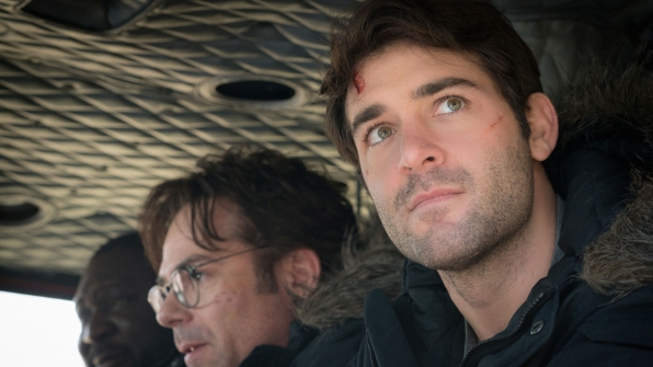 James Patterson and James Wolk Discuss Season 2 of 'Zoo'