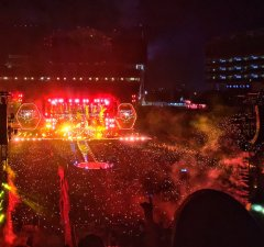 Coldplay Concert Review