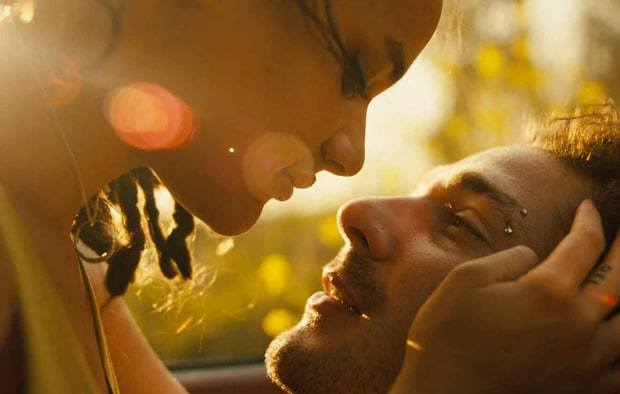 American Honey Sasha Lane and Shia LaBeouf