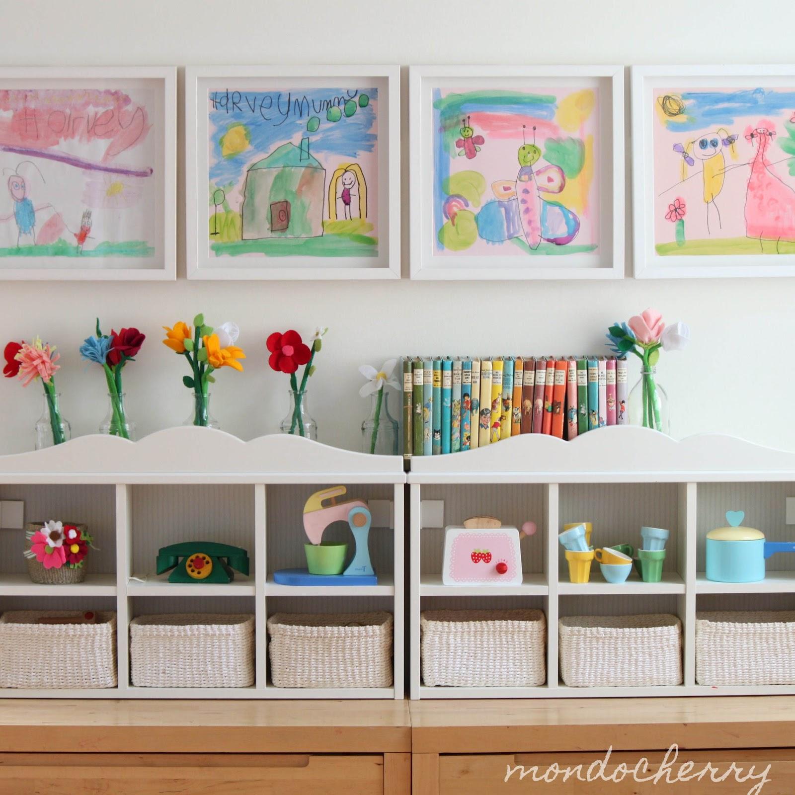Mondocherry-Whitewash-Childs-room-storage-colorful-prints-and-pop-flowers