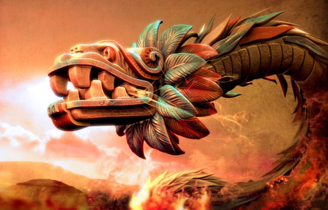 """""""Quetzalcoatl's Rage,"""" 2008"""
