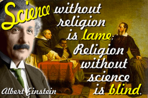 albert quote religion