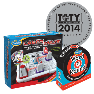 ThinkFun's 2014 Toy Of The Year Nominations