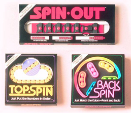 Spin-Out, Top-Spin & Back-Spin