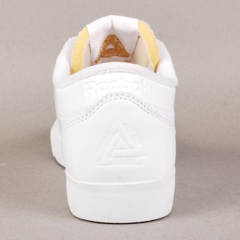 Palace x Reebok Workout Low Clean FVS Skate Shoes - White/Ice