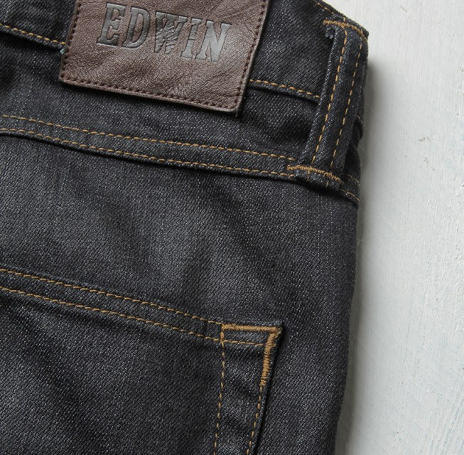 Edwin ED 88 CS Rider Denim Greaser Wash - Super Slim