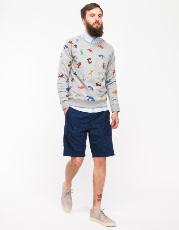 Maison Kitsune Childish Sweater