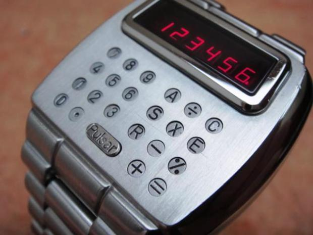 1975 First Calculator Watch - Pulsar Module 1