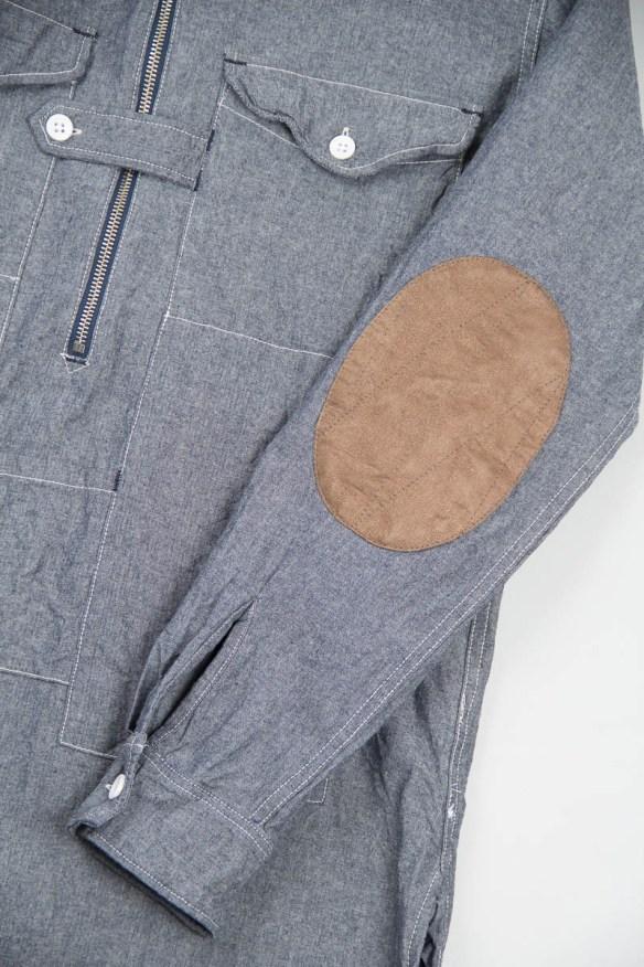 Engineered Garments Hooded Long Shirt