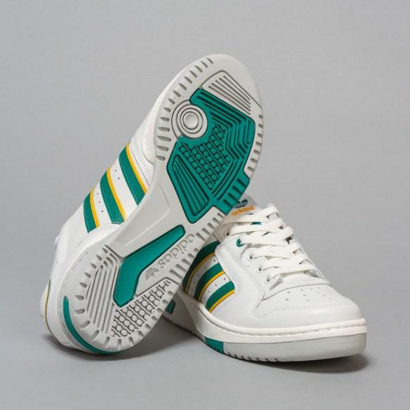 Adidas Edberg 86 White Trainers