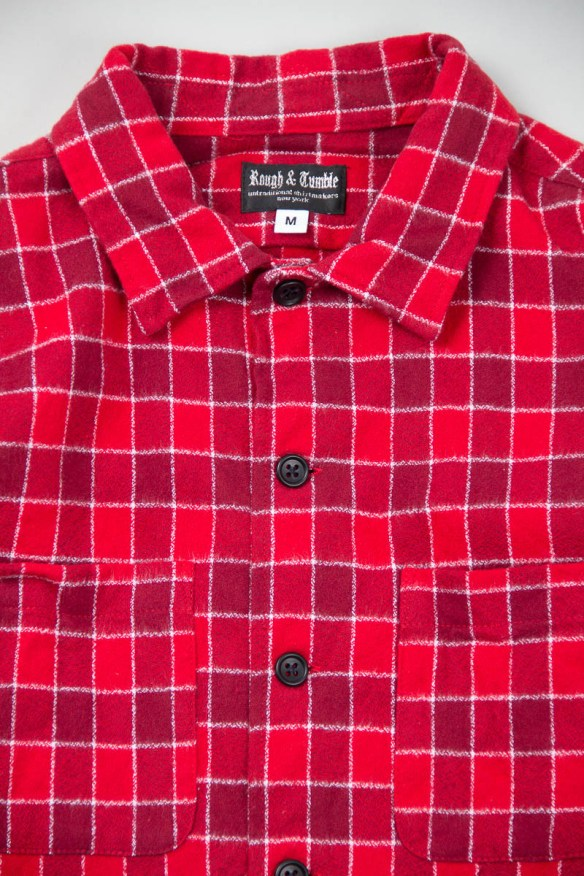 rough and tumble flannel check shirts