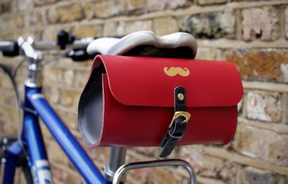 Hill & Ellis Leather Bike Bags