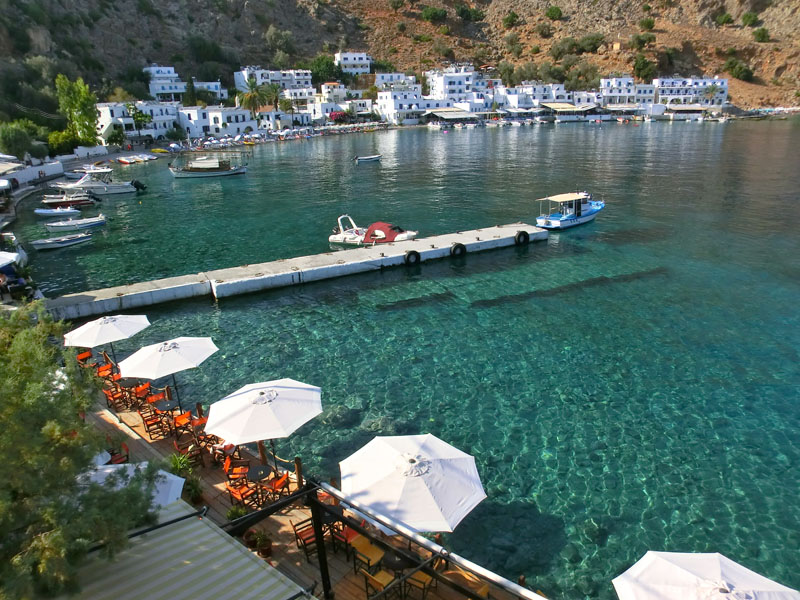 Loutro – A Greek Paradise Hidden in Crete