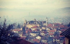 Sarajevo Seen from Above