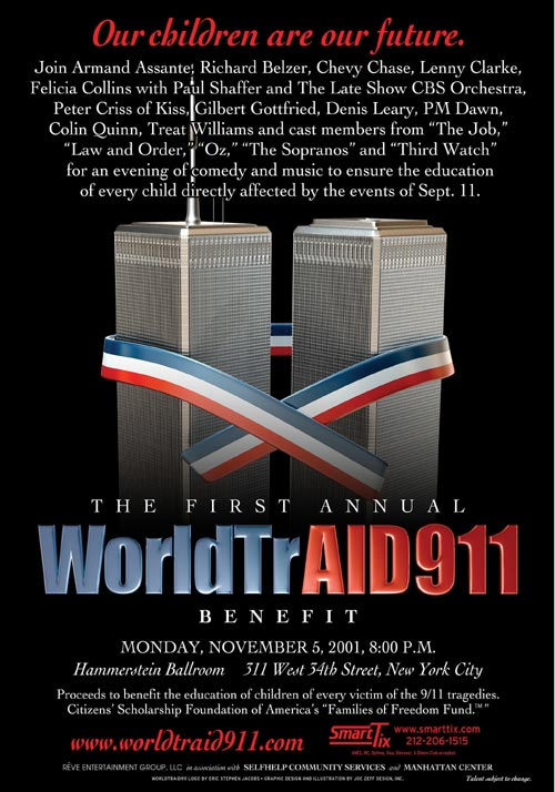 911 Families of Freedom Worldtrade AID by Luis Moro Productions.
