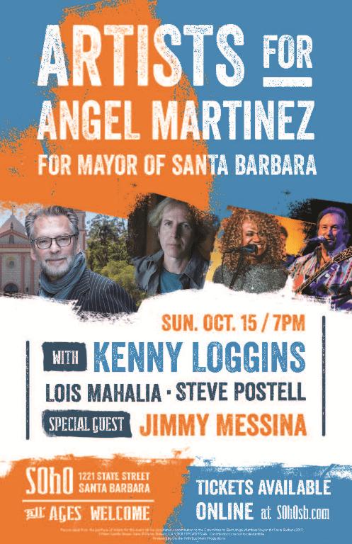 Angel Martinez, for Mayor of Santa Barbara