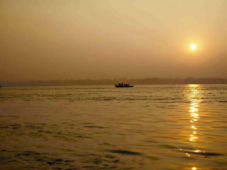 river ganges sunrise