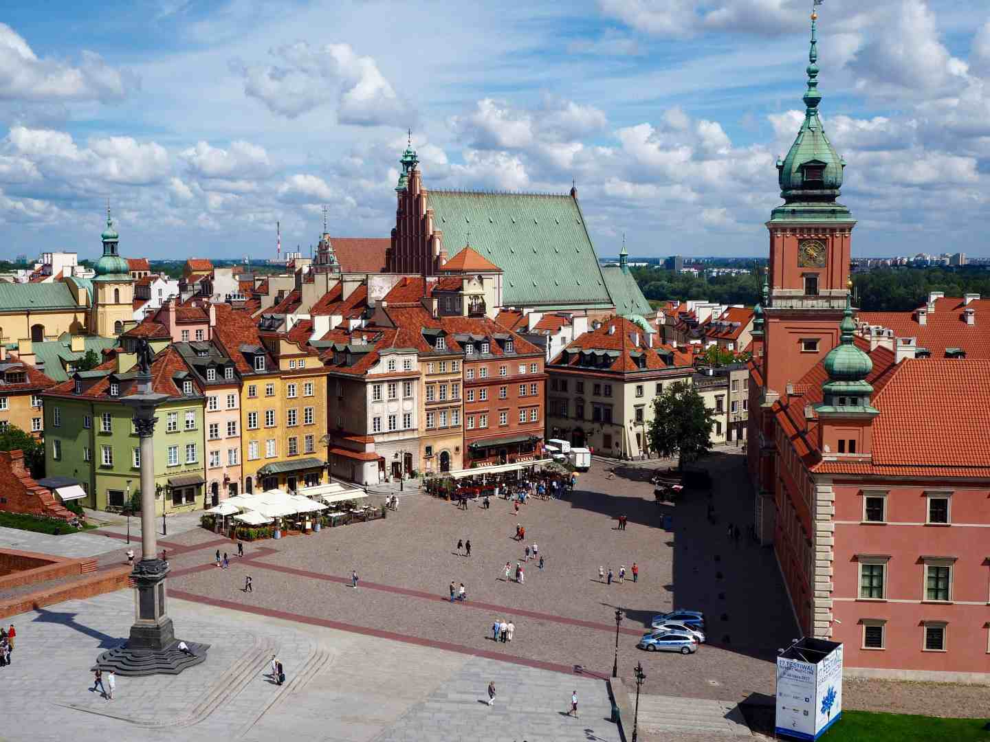 warsaw old city