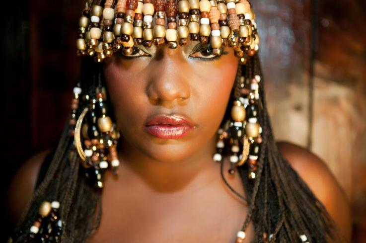 Braids with beads, cowry shells, and more of 4 by Matthew