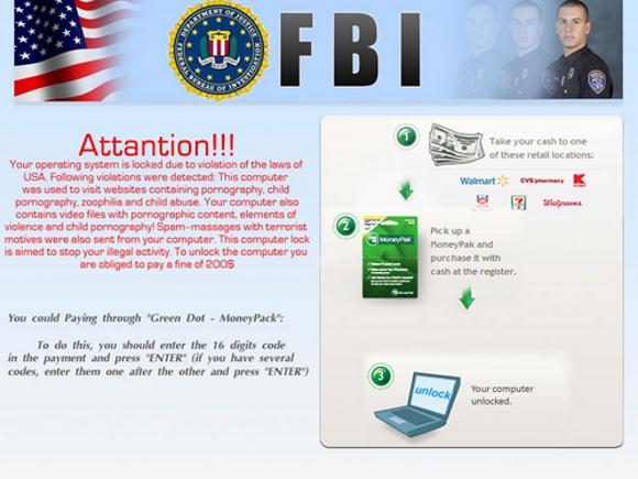 FBI Attantion Virus