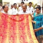 Specially Designed Saree of Vengamamba