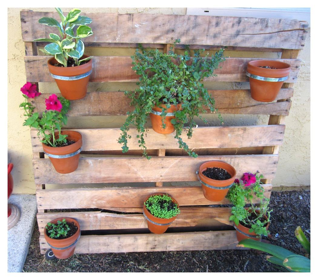 Fullsize Of Diy Pallet Herb Garden