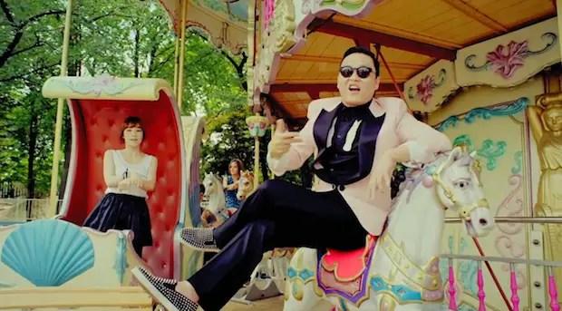 Gangnam Style Merry Go Round