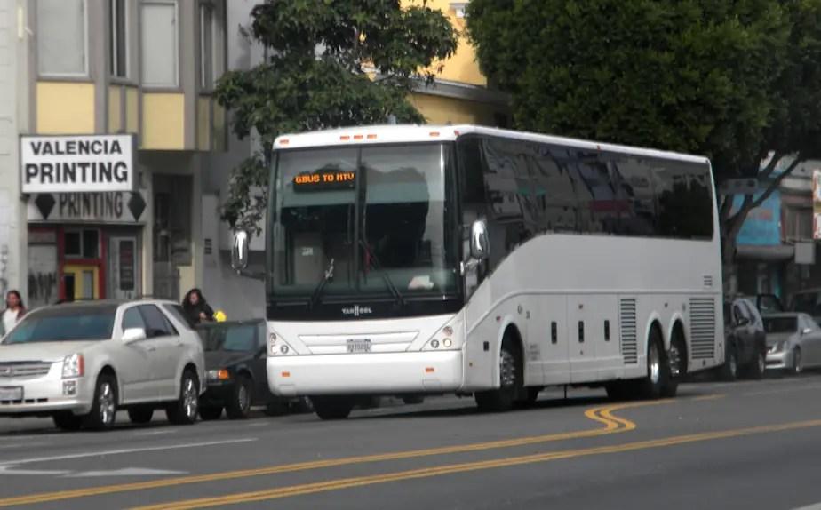 Hook Up Bus In San Francisco