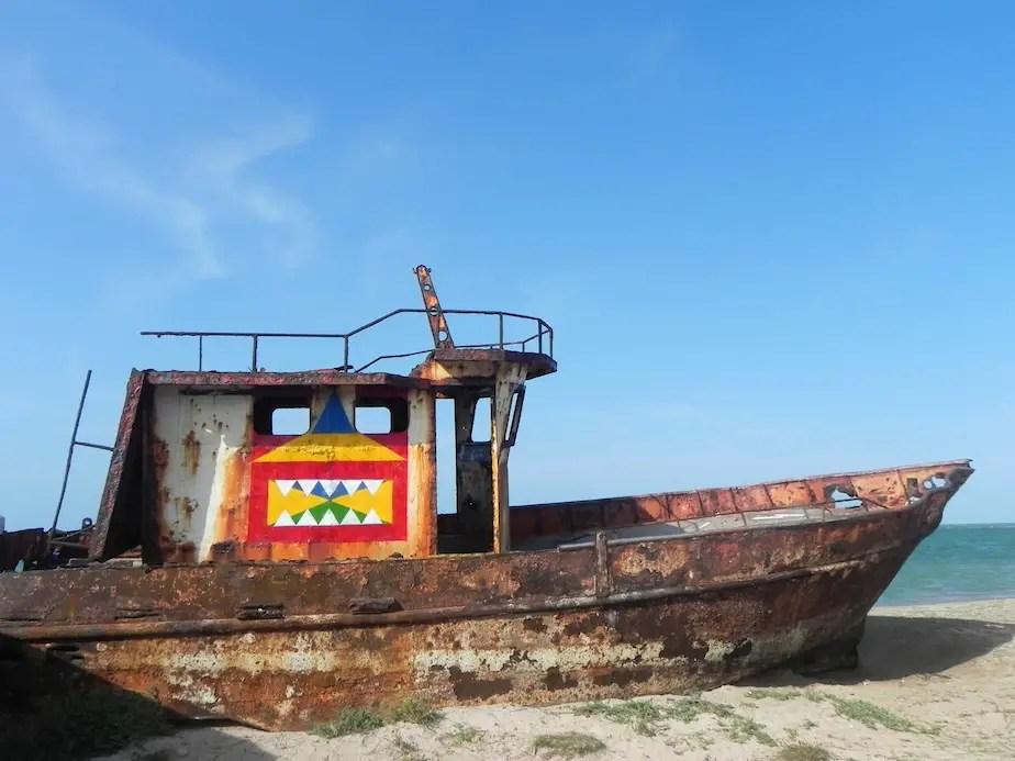 12. SHIP ROBOT IN TIRAYA