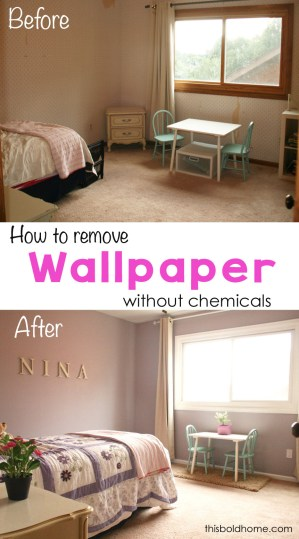 howtoremovewallpaperwithoutchemicals