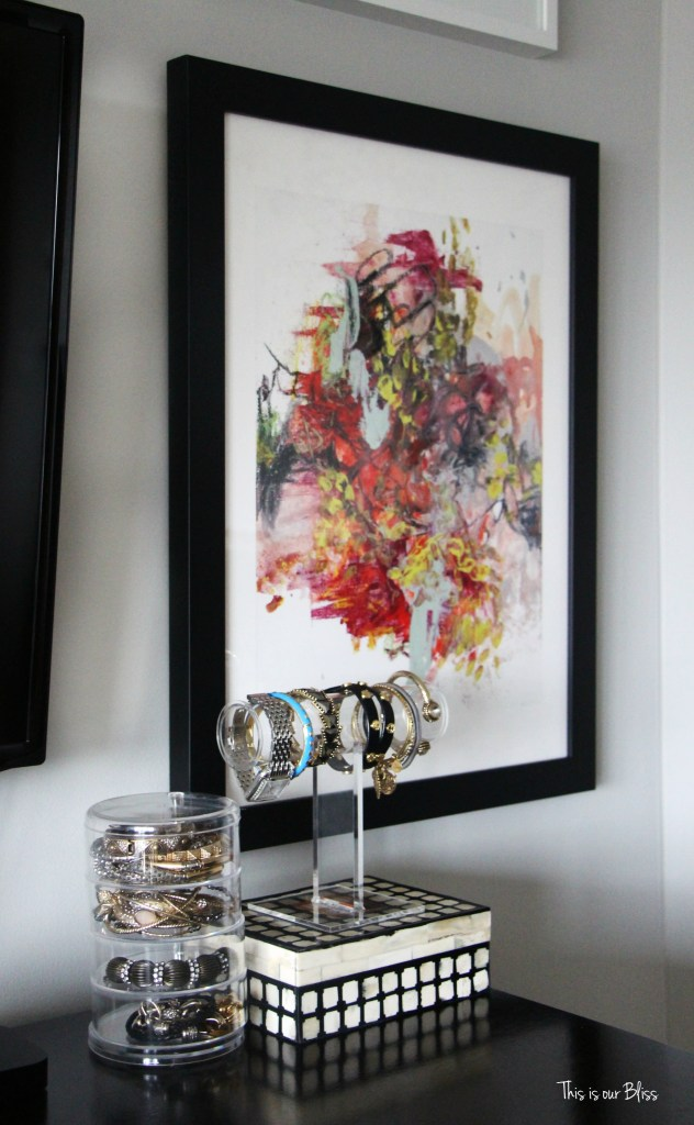 minted art - master bedroom gallery wall - bedroom wall art - This is our Bliss - thisisourbliss.com