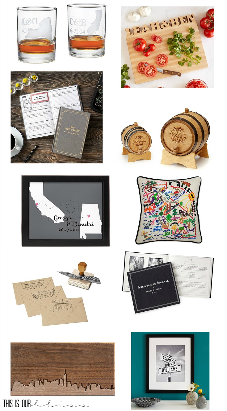 unique and personalized gift ideas | This is our Bliss | www.thisisourbliss.com