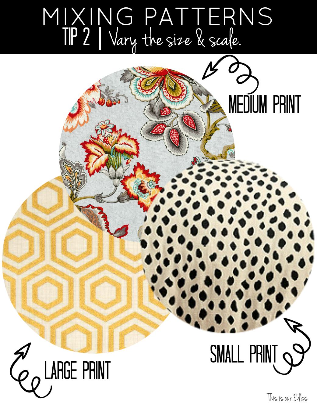How To Mix Patterns Back To Basics Week 2 This Is Our